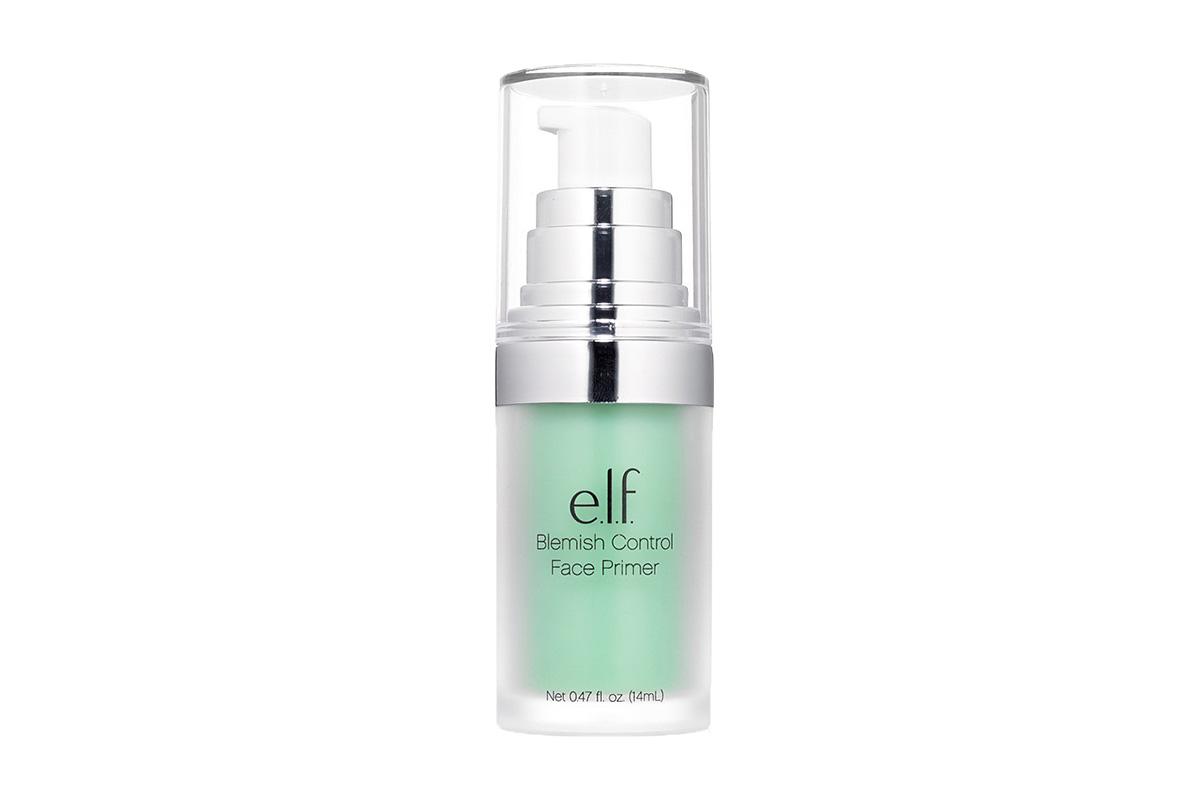 База под макияж зеленого цвета E.L.F., Blemish Control Face Primer