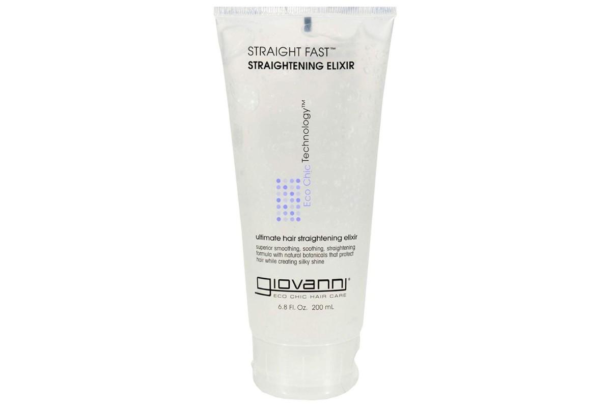 Жидкость для выпрямления волос Giovanni Straight Fast Hair Straightening Elixir