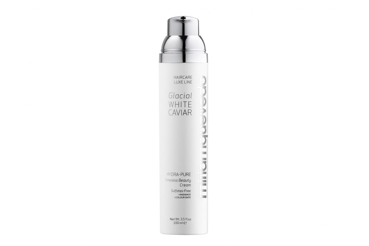 Несмываемое средство для волос Miriamquevedo Glacial White Caviar Hydra Pure Timeless Beauty Cream