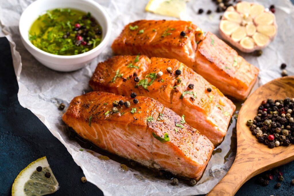 рецепт филе лосося с паприкой