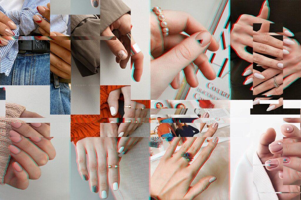 Тонкий минимализм: идеи лаконичного маникюра в офис