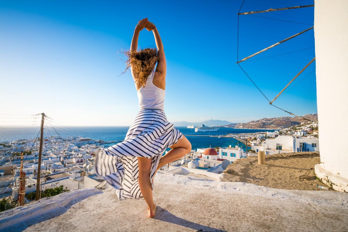 Йога-ретрит в Греции