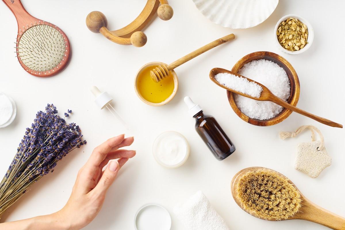 Солевой скраб для кожи головы от перхоти