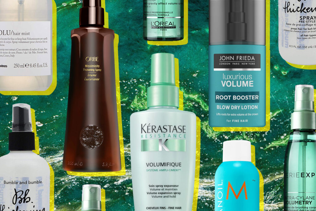 Спреи для объема волос: топ-7 средств, которые спасут укладку