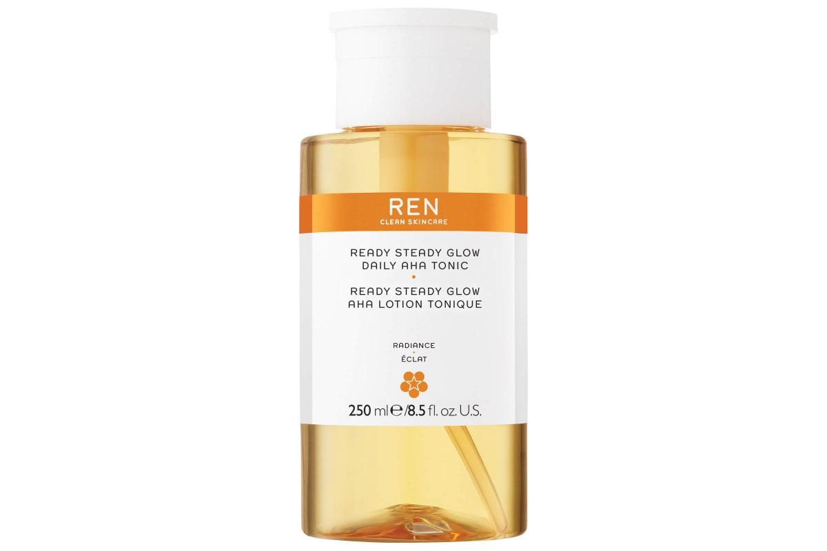 Тоник с кислотами для чувствительной кожи REN Ready Steady Glow Daily AHA Tonic