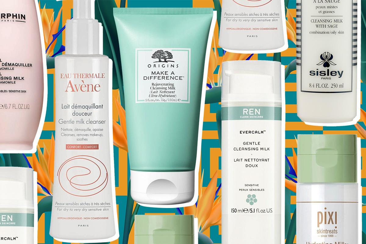 Очищающее молочко: топ-7 средств для чувствительной кожи