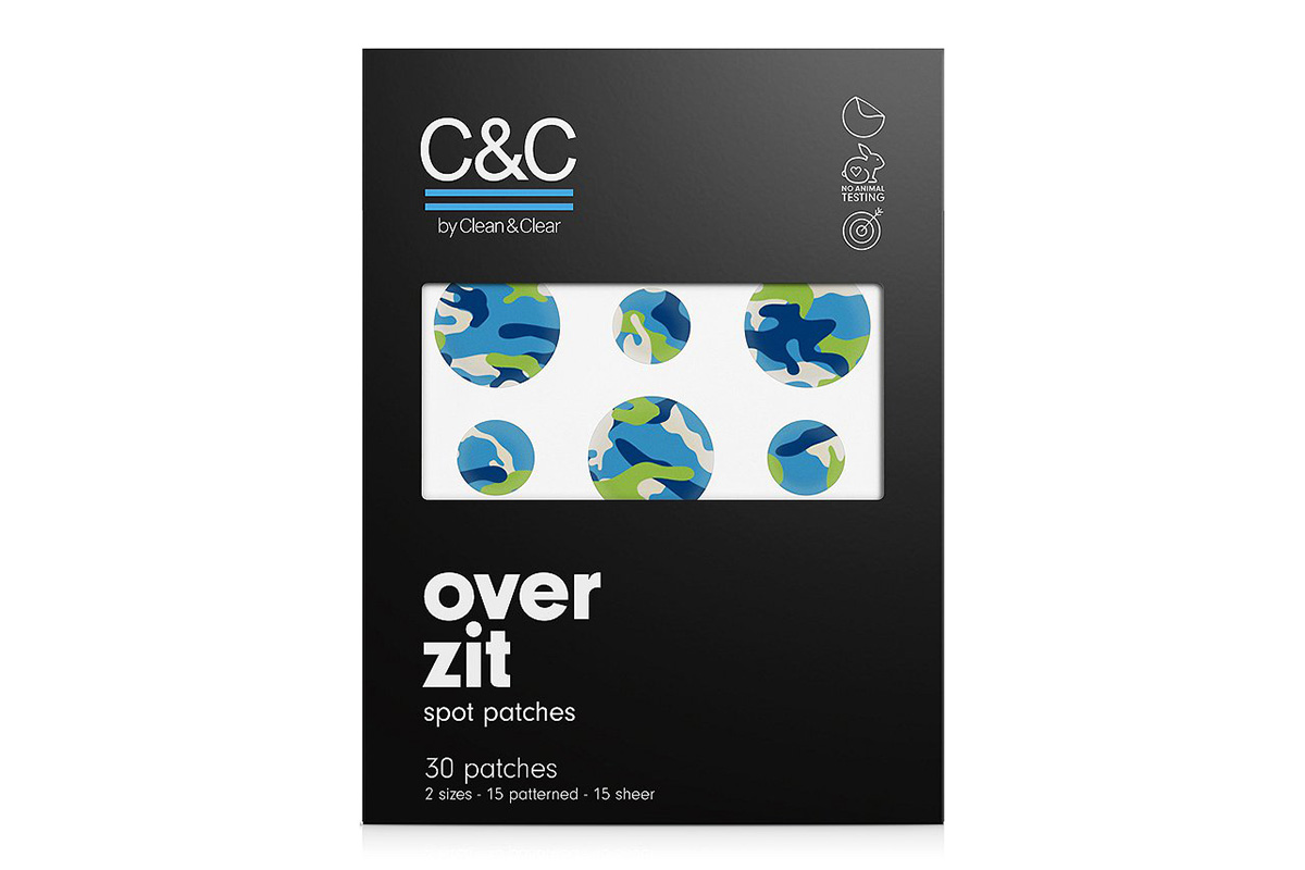 Патчи от акне C&C by Clean & Clear Over Zit Spot Patches