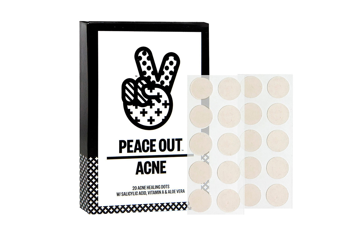 Точечные патчи от акне Peace Out Acne Healing Dots