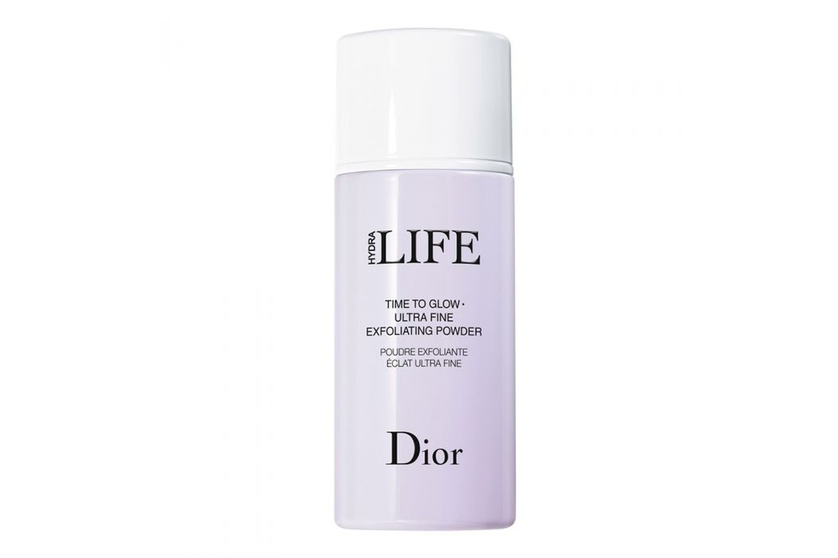 Очищающий эскфолиант-пудра Dior Hydra Life