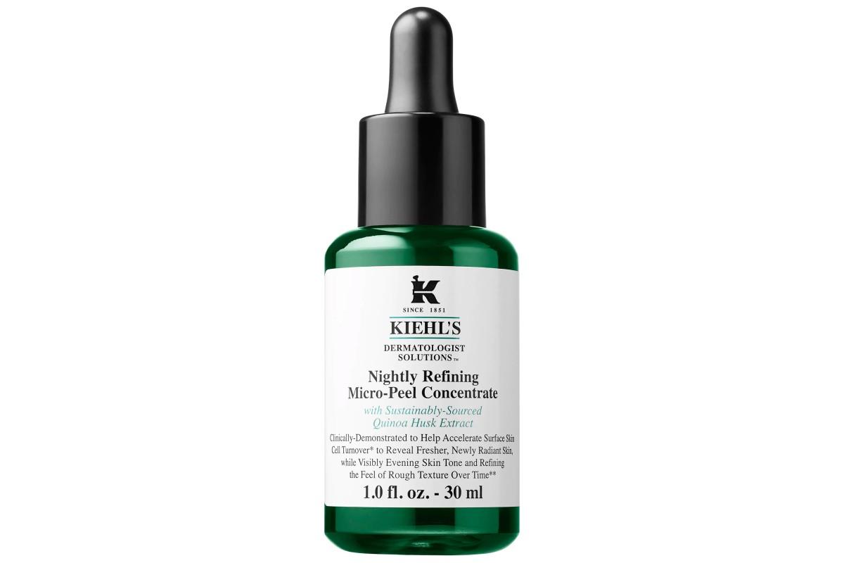 Ночной микропилинг, ускоряющий обновление кожи Kiehl's Nightly Refining Micro-Peel Concentrate