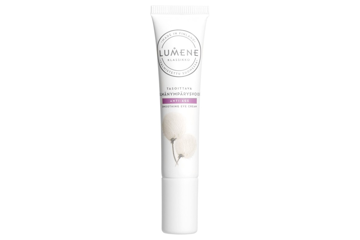 Лучший бюджетный крем для век Lumene, Klassiko Smoothing Eye Cream