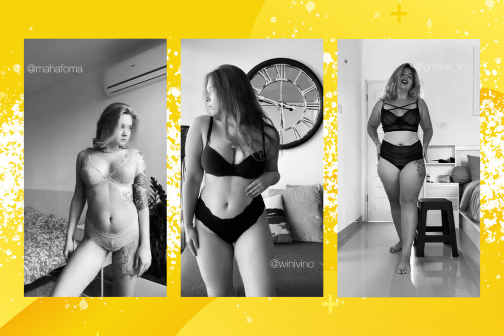 #КрасотаНеВРакурсе: челлендж в Instagram об неидеальности тела