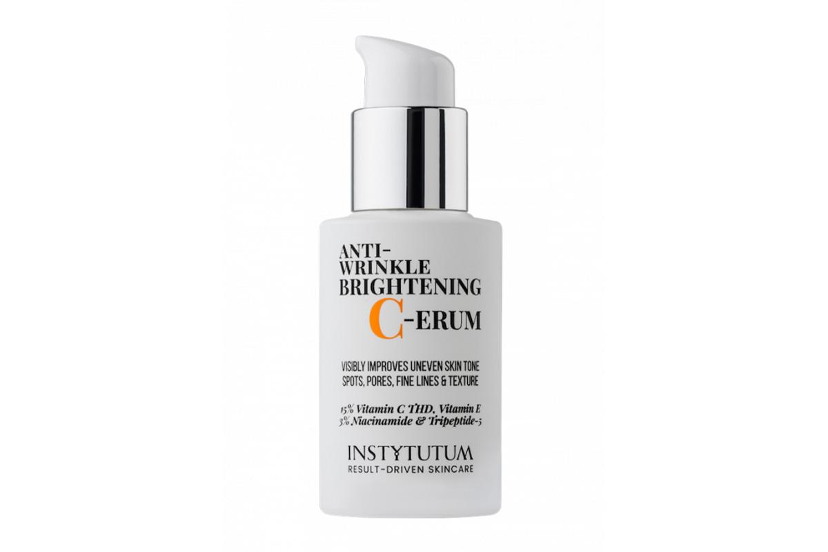 Суперконцентрированная сыворотка с витамином С Instytutum Anti-Wrinkle Brightening C-Erum