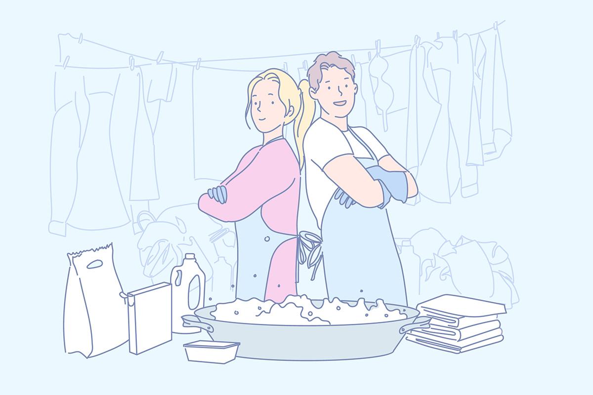 коронавирус и стирка одежды