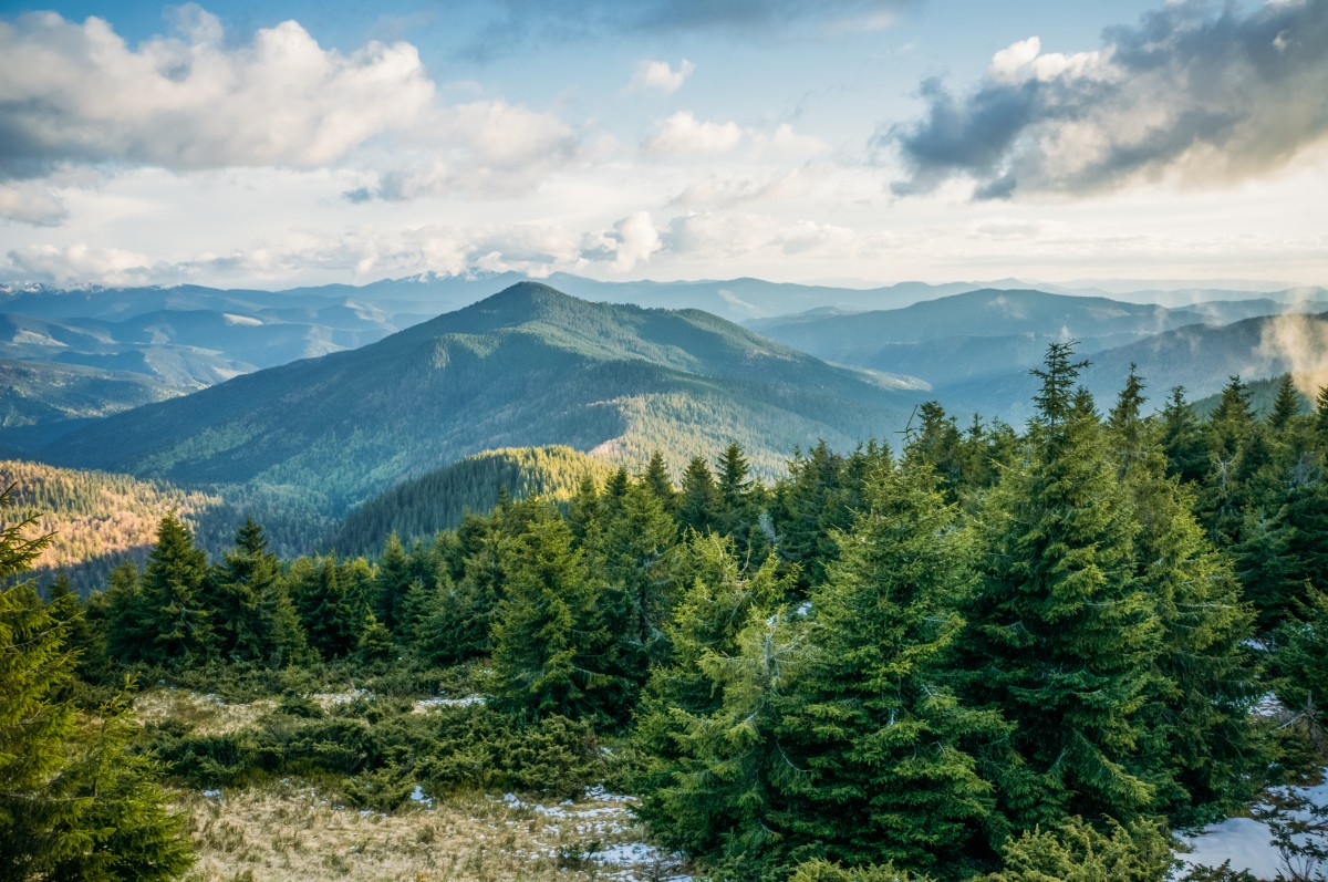 горы Украина