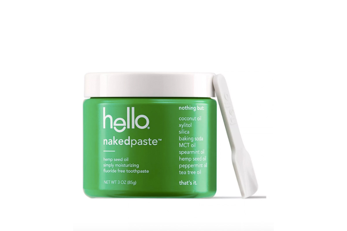 Зубная паста натуральная Hello, Nakedpaste Simply Moisturizing Hemp Seed Oil