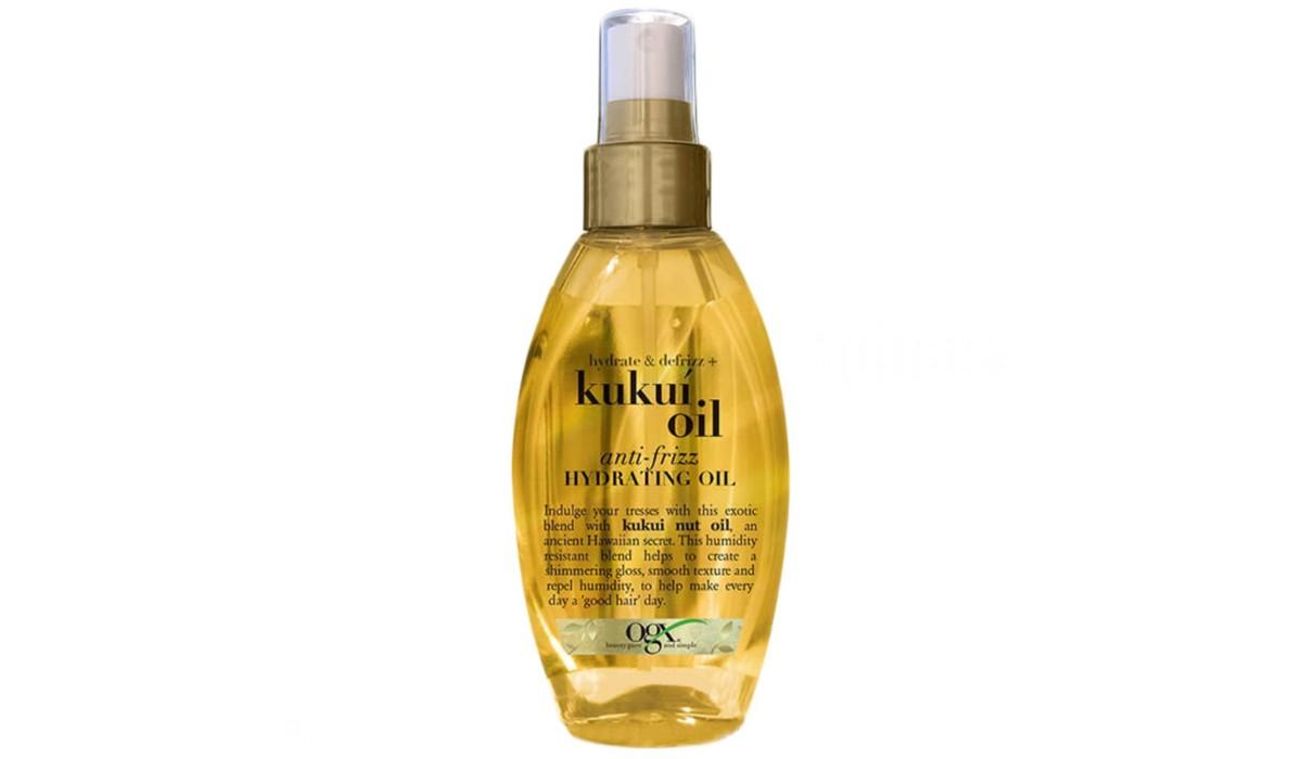 Увлажняющее масло для волос OGX Kukui Oil Anti-Frizz Hydrating Oil