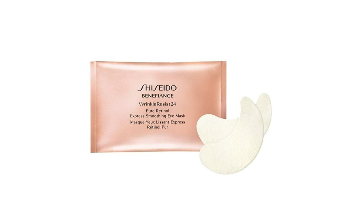 Shiseido, Benefiance WrinkleResist24 Pure Retinol Express Smoothing Eye Mask