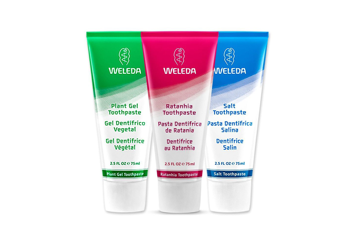 Weleda, Plant-Rich Toothpaste 3-Piece Set