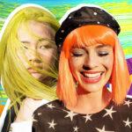 Цветное окрашивание волос: топ-10 ярких идей на весну-лето