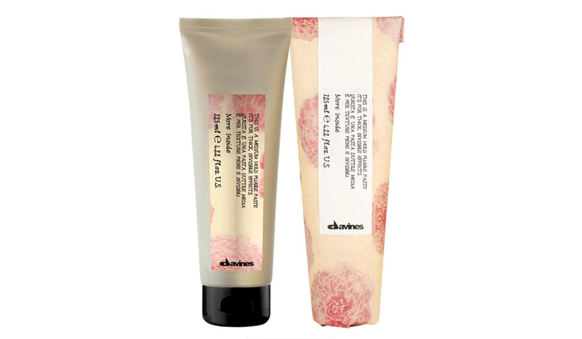 Крем-паста для укладки волос Davines More Inside Medium Hold Pliable Paste
