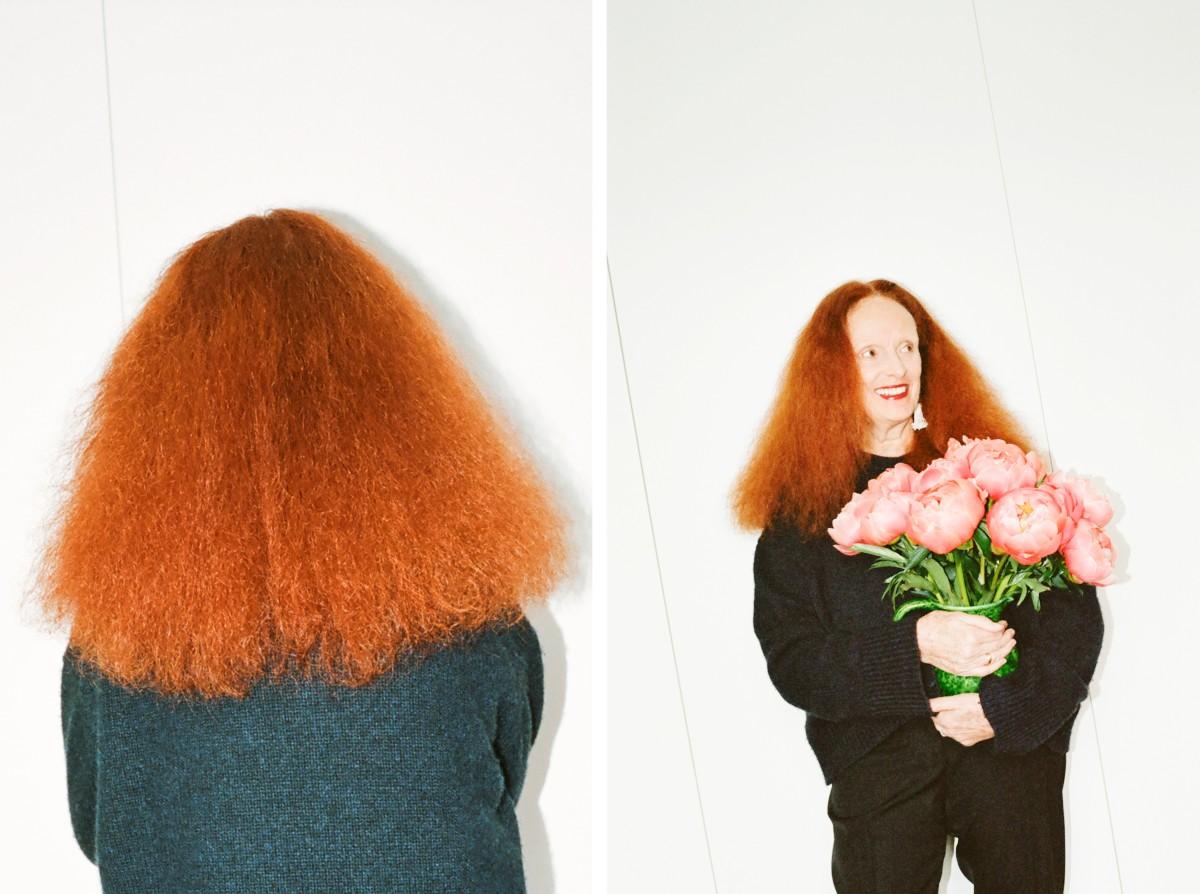 Как Грейс Коддингтон поддерживает свой фирменный цвет волос на карантине
