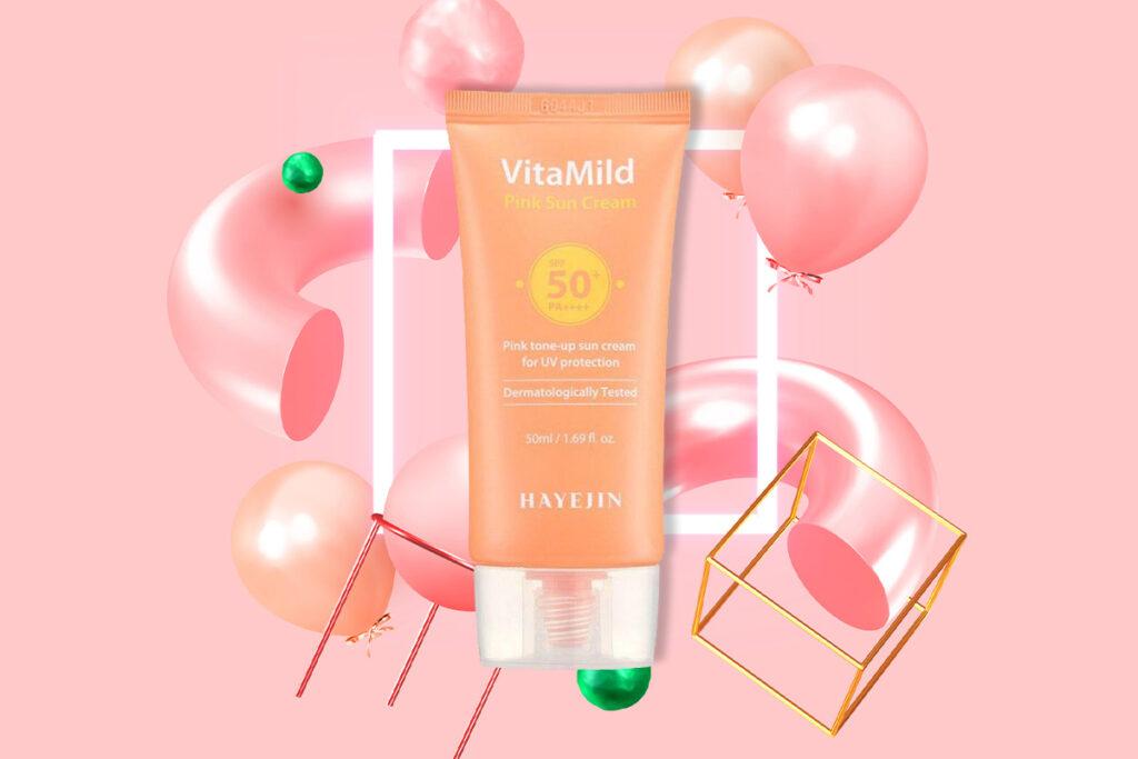 Beauty-средство недели: Hayejin, VitaMild Pink Sun Cream SPF50 + PA ++++