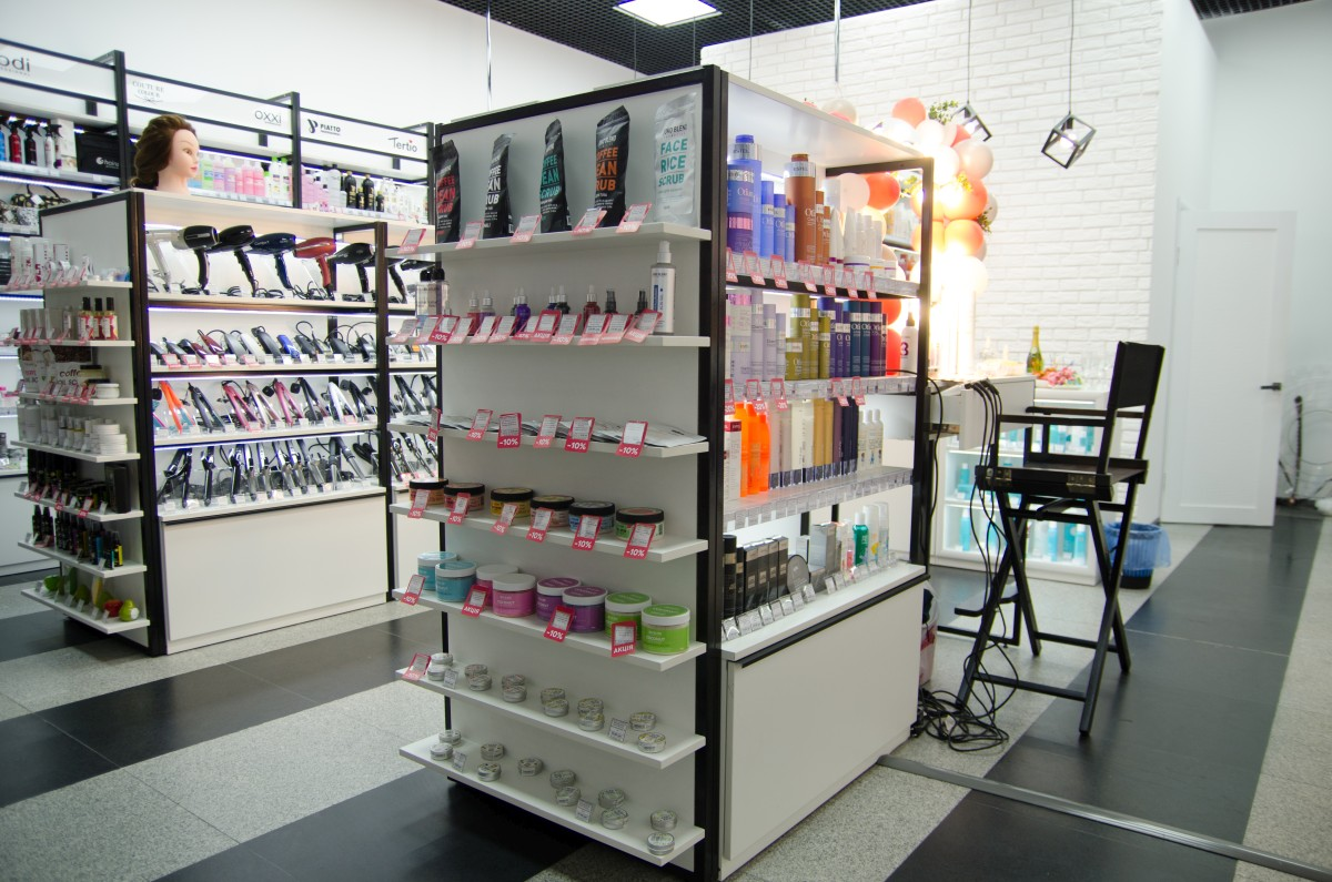 Сеть бутиков профессиональной косметики BEAUTY PROF