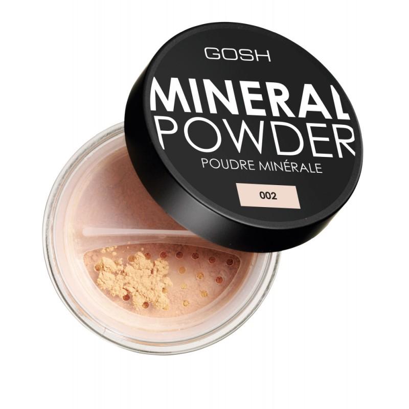 Пудра на минеральной основе GOSH Mineral Full Coverage Foundation Powder