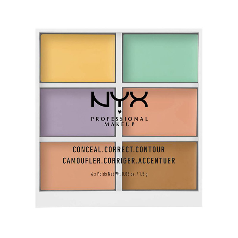 NYX Professional Makeup, 3C Palette Color Correcting Concealer