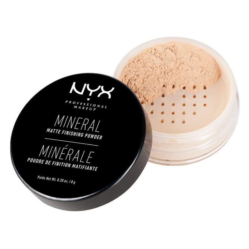 Минеральная пудра для лица NYX Mineral Finishing Powder