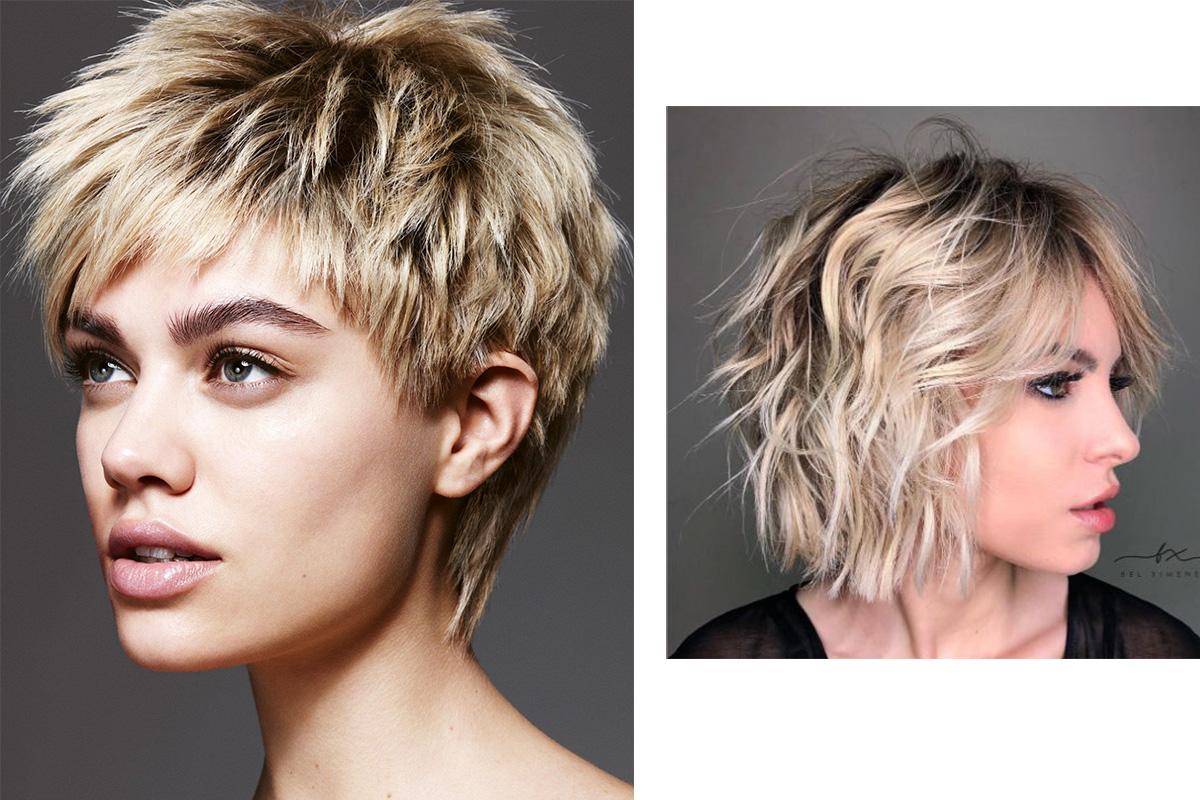 Обладательница коротких волос