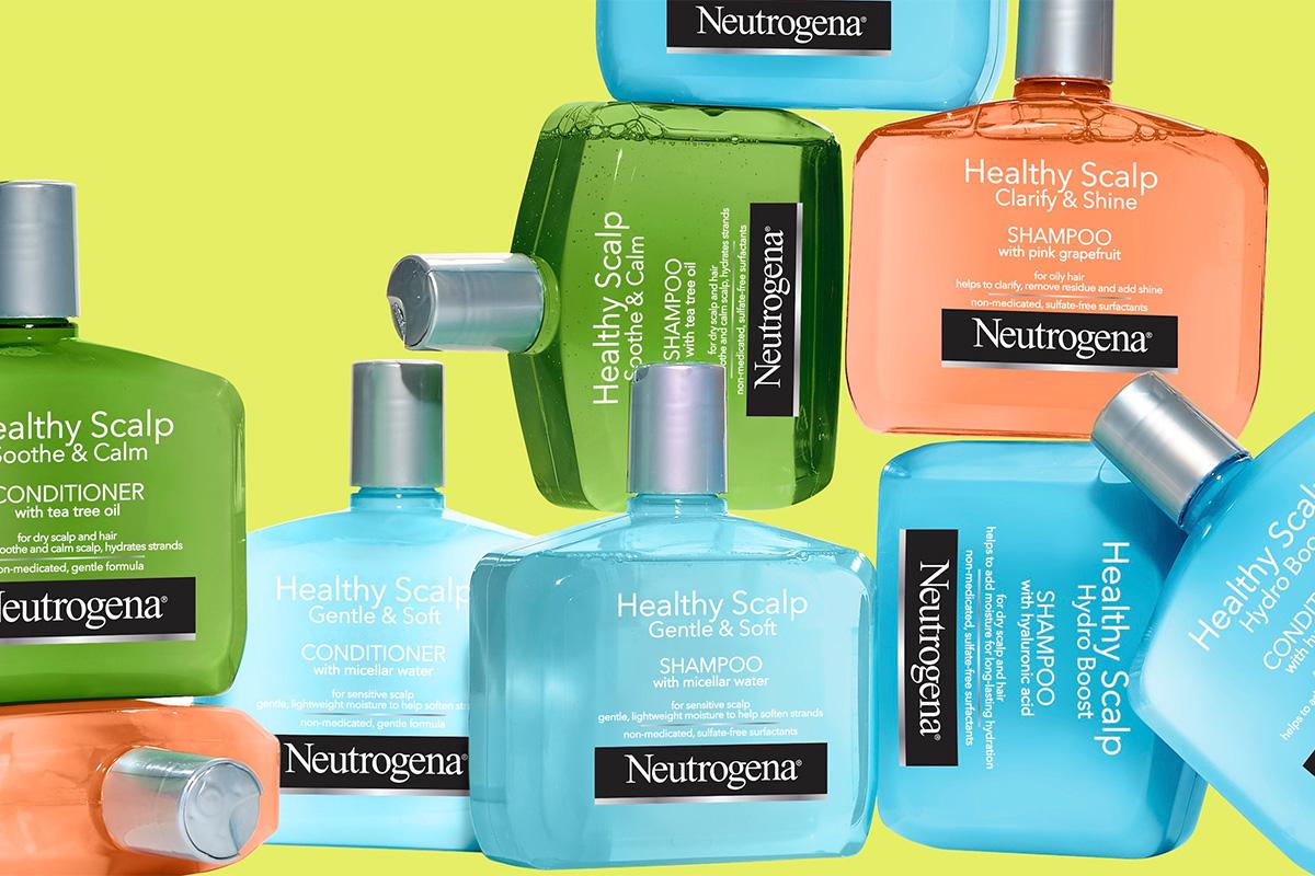 Neutrogena запустила новую линию по уходу за волосами и кожей головы
