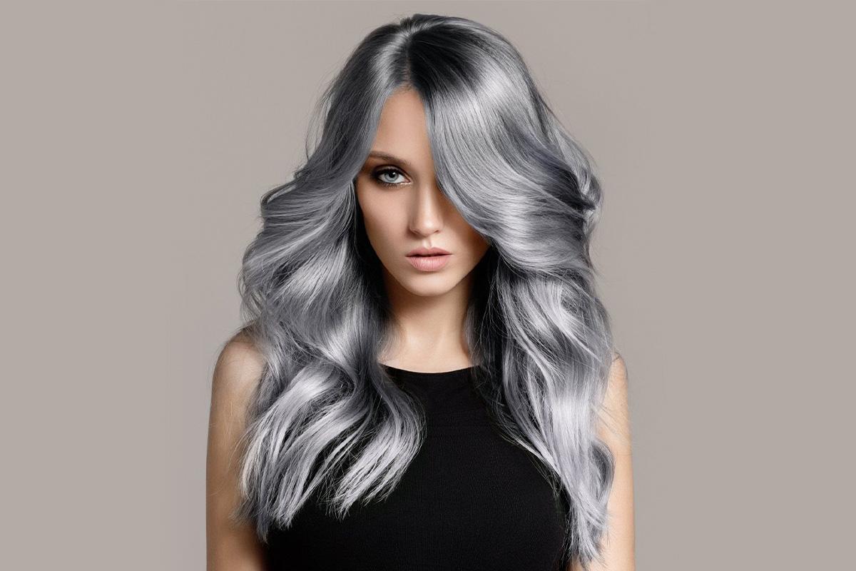 Пепельный цвет волос: новый или старый тренд