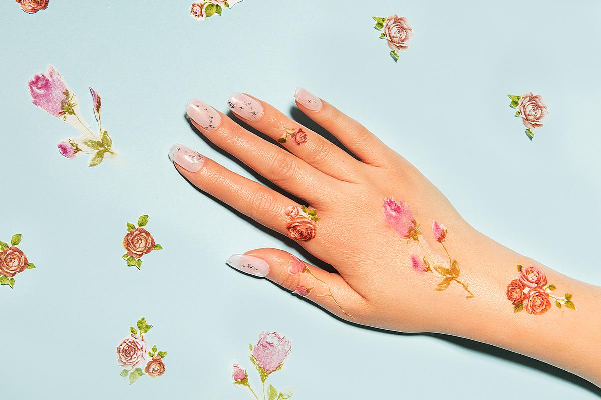 Слайдер на ногти: утонченность и грация