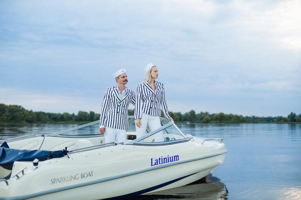 Олимпия Вайтмусташ и Алексей Гладушевский стали лицами бренда Sparkling Boat Kyiv