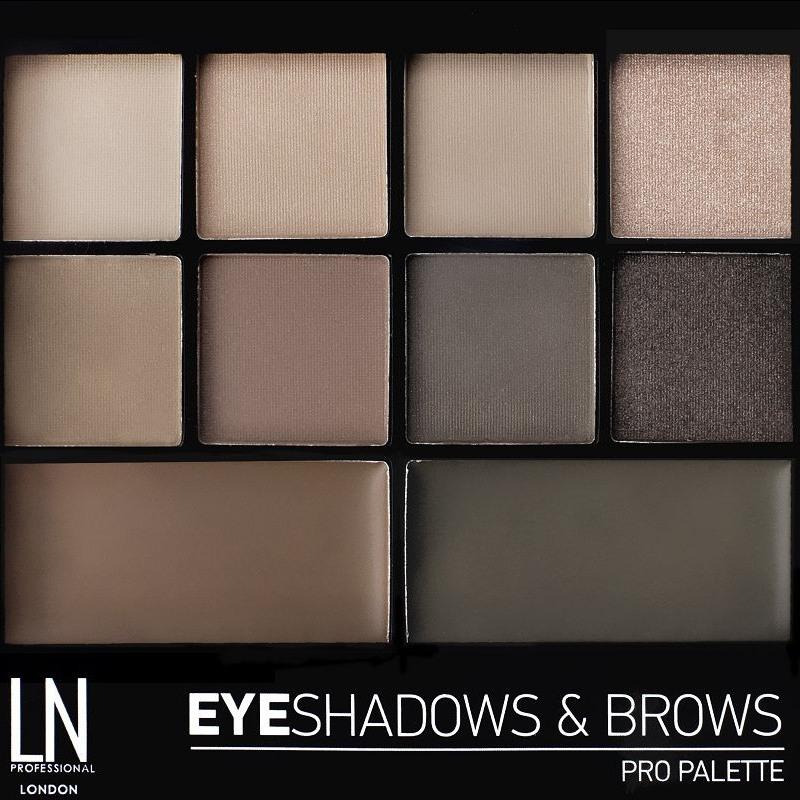 LN Professional Eyeshadows & Brows Pro Palette Kit