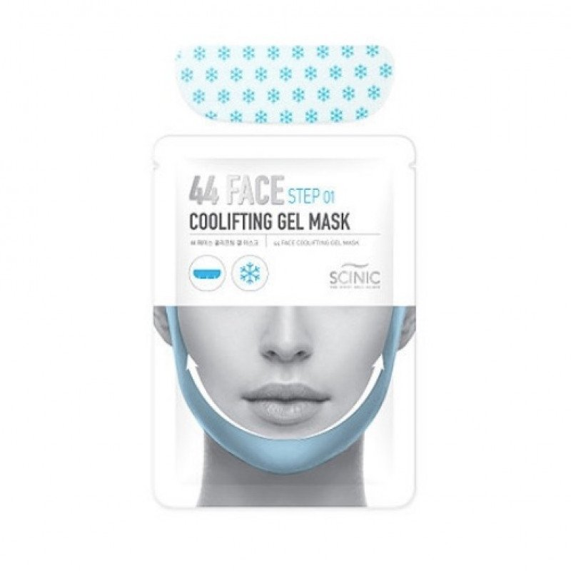 Scinic 44 Face Making Kit Cool Lifting Gel Mask And Belt