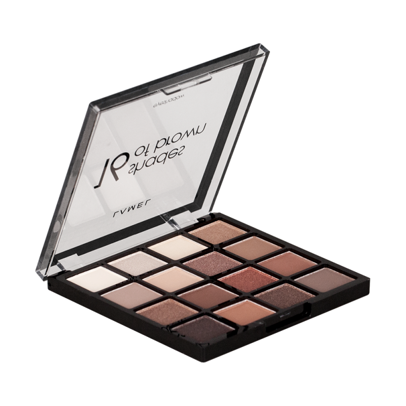 Lamel Professional Eyeshadow 16 Shades Of Brown