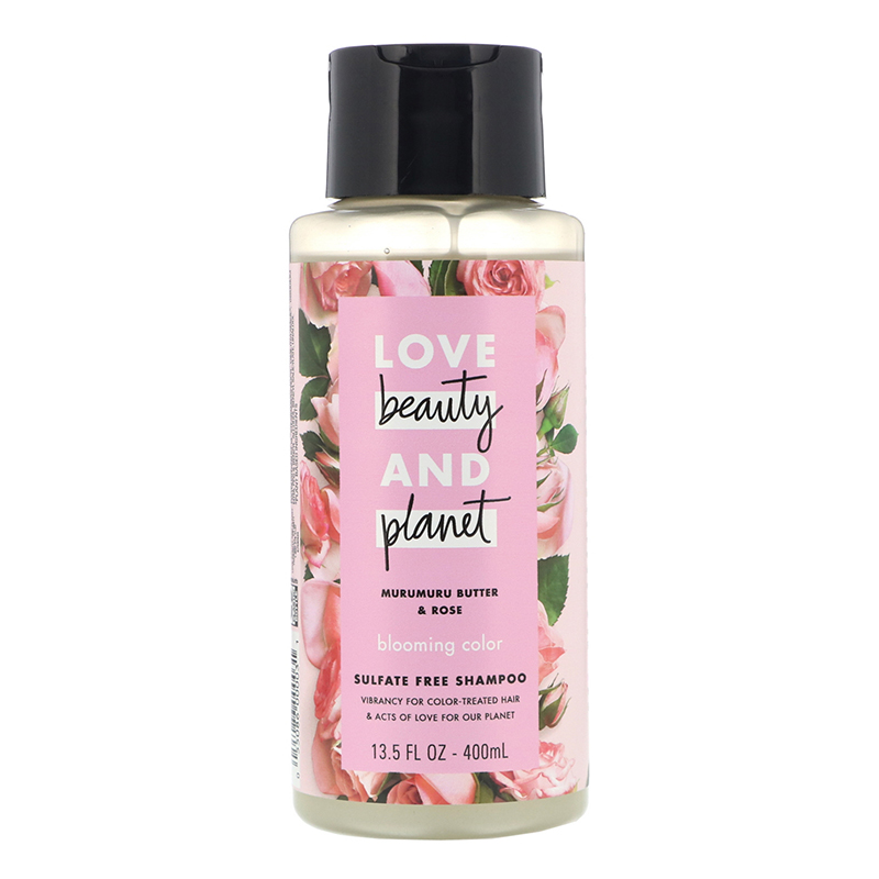 Love Beauty and Planet, Murumuru Butter and Rose Blooming Color Shampoo