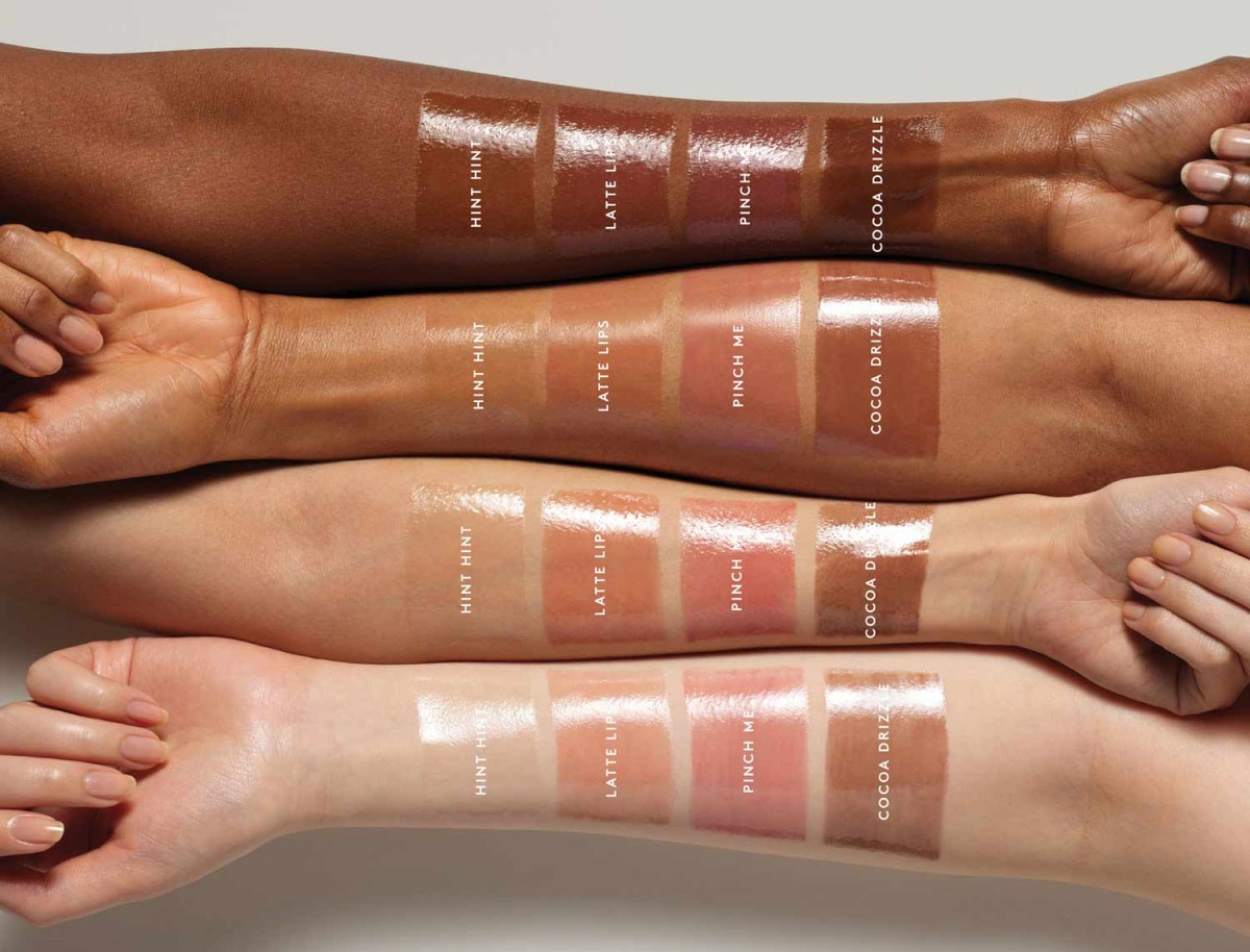 Fenty Beauty Pro Kiss'r Luscious Lip Balm 2020 свотчи