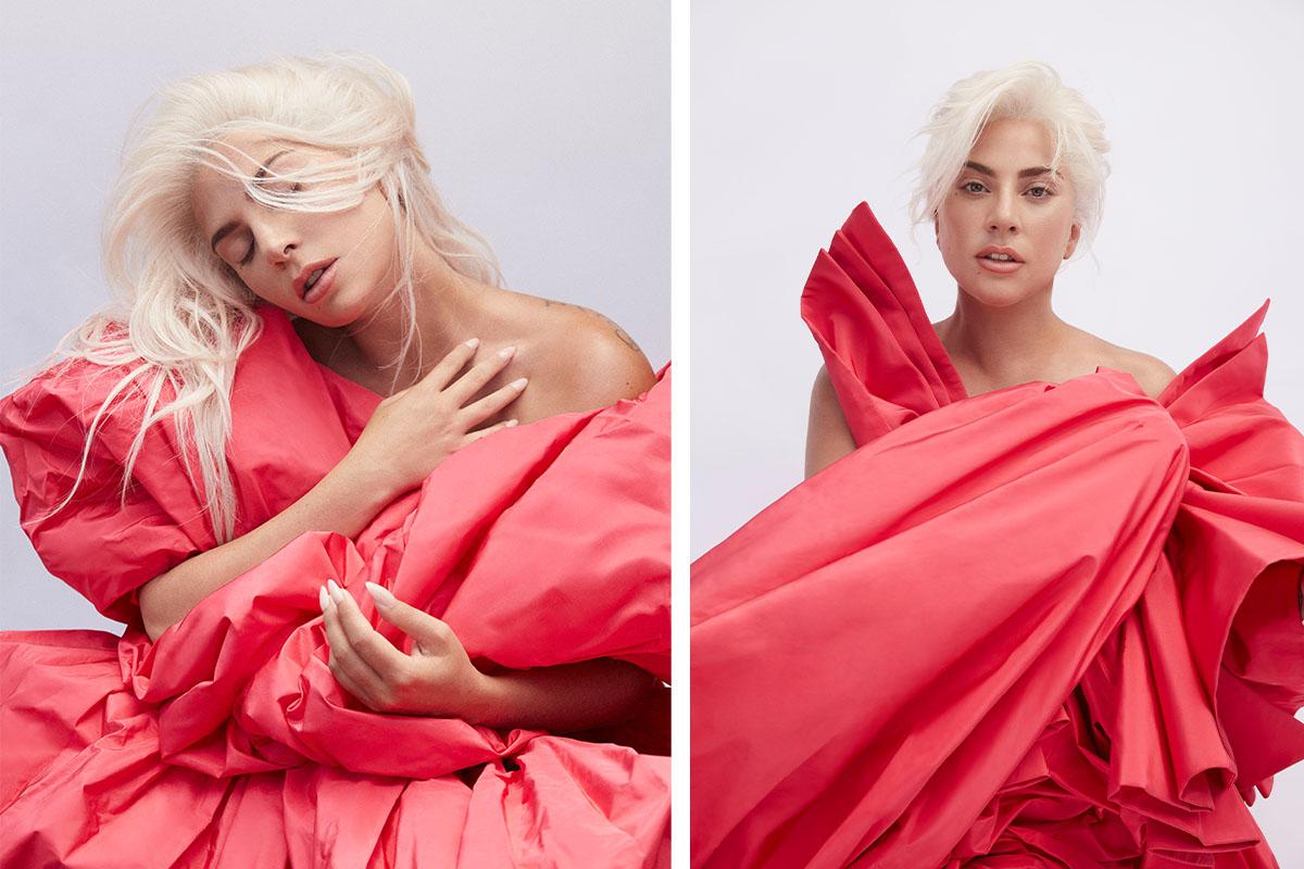 Леди Гага в рекламной кампании аромата Voce Viva