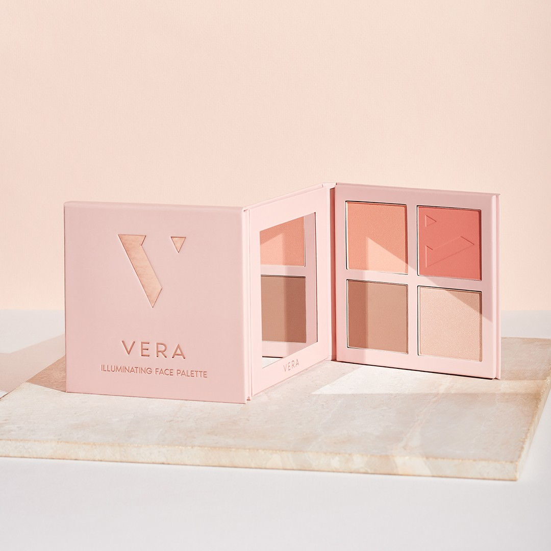 Палетка для макияжа лица VERA Illuminating Face Palette