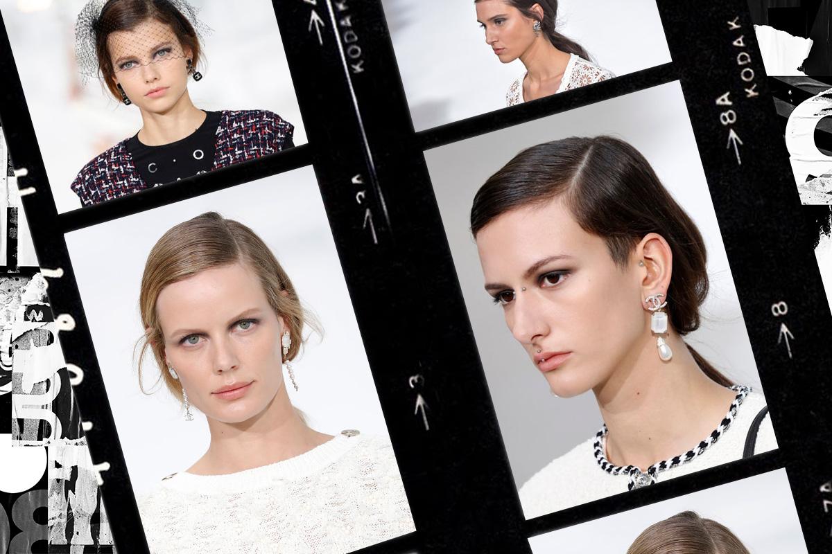 Низкий французский хвост от Chanel: трендовая прическа сезона весна/лето 2021