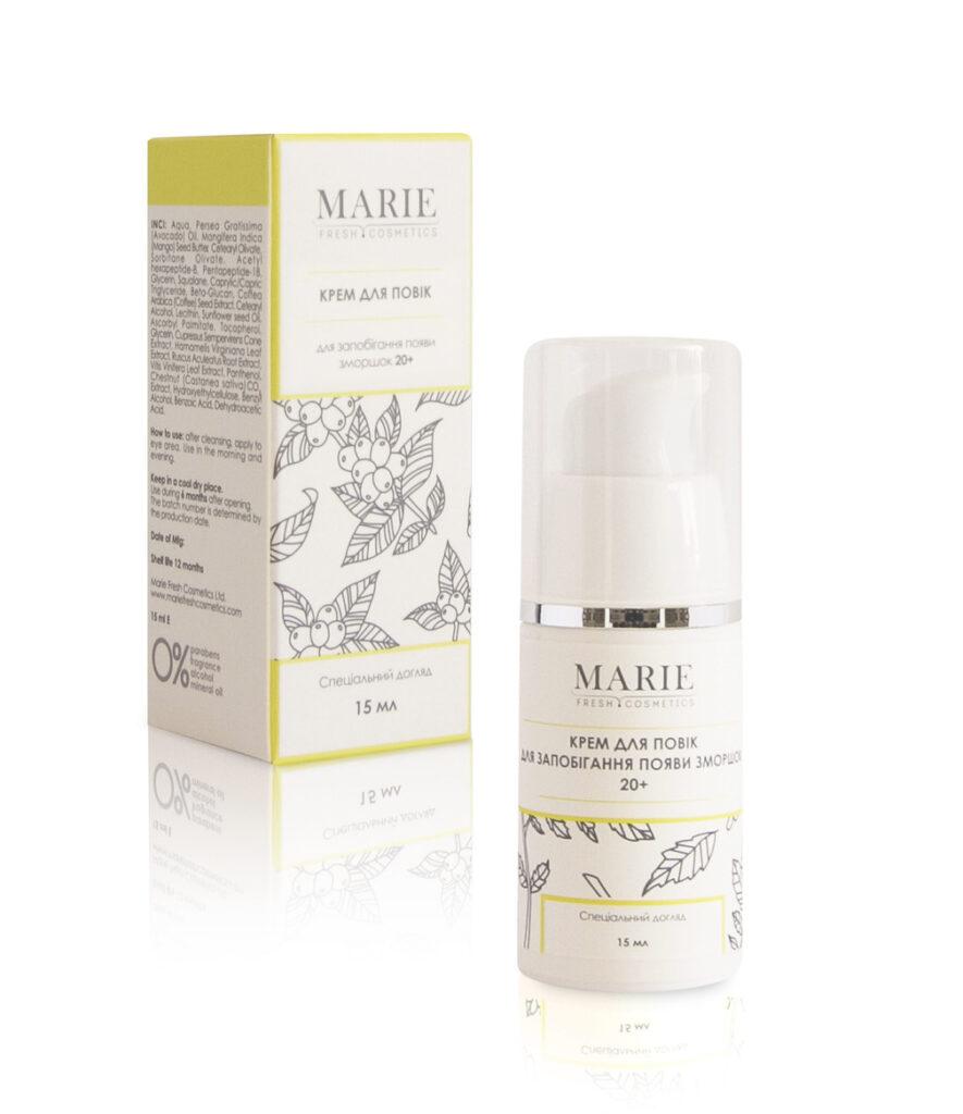Marie Fresh Cosmetics, Крем для глаз для предотвращения морщин 20+