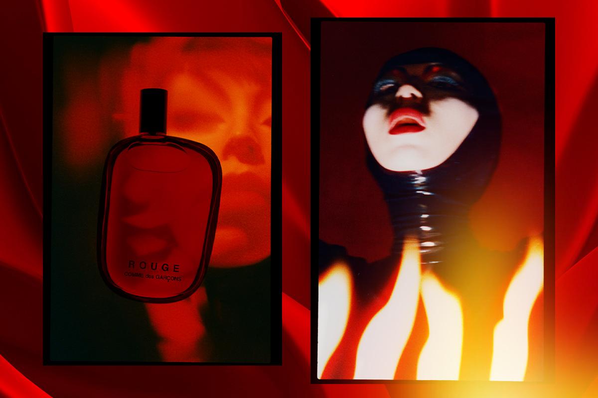 Встречайте, новый аромат Rouge от Comme des Garsons