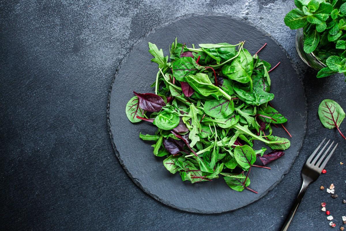 Салат микс зелени