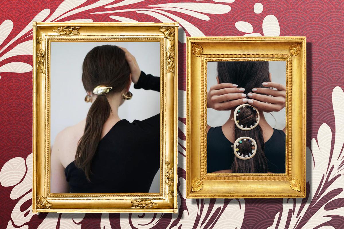 10 роскошных заколок для волос, которые будут в тренде этой осенью