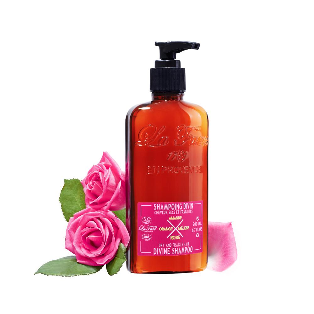 Шампунь для сухих и поврежденных волос La Fare 1789 Dry and Fragile Hair Divine Shampoo