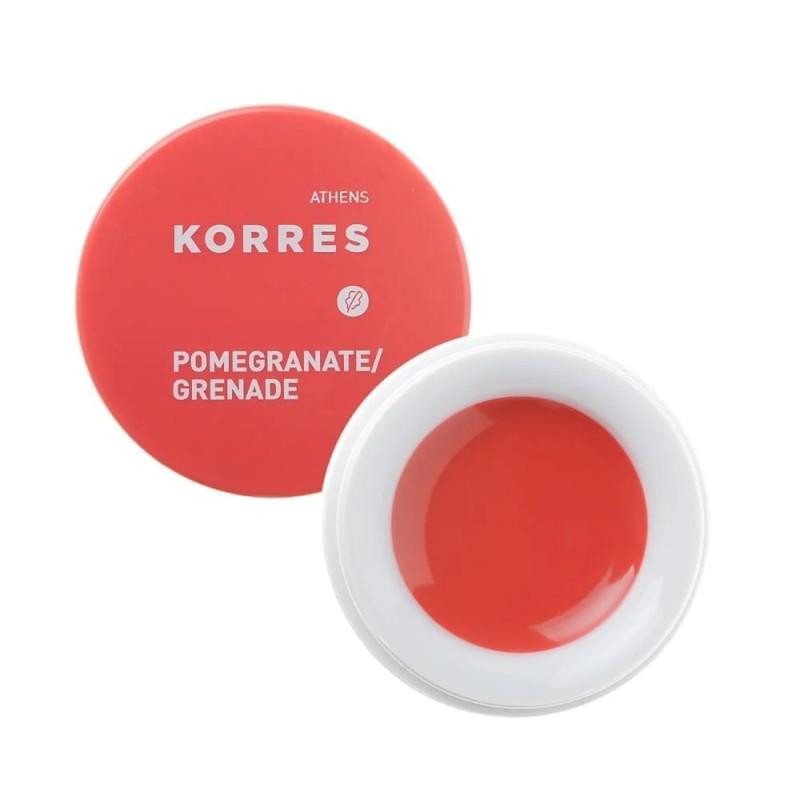 Оттеночный бальзам для губ Korres Lip Butter